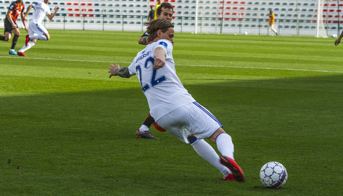 Peter Ankersen scored the second goal for the Danes
